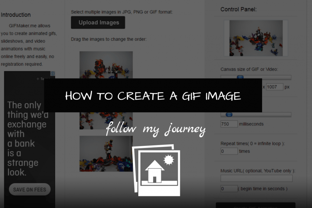 HOW TO CREATE A GIF IMAGE