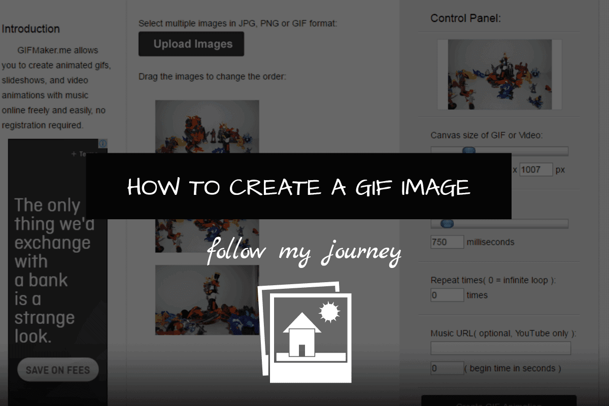 HOW TO CREATE A GIF IMAGE 1