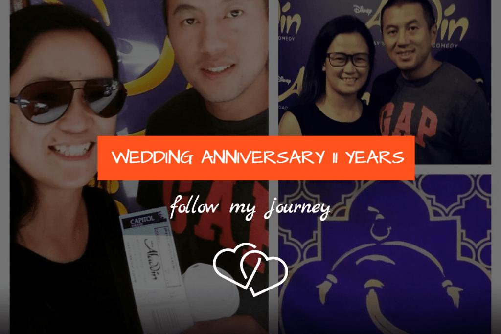 WEDDING ANNIVERSARY 11 YEARS 1