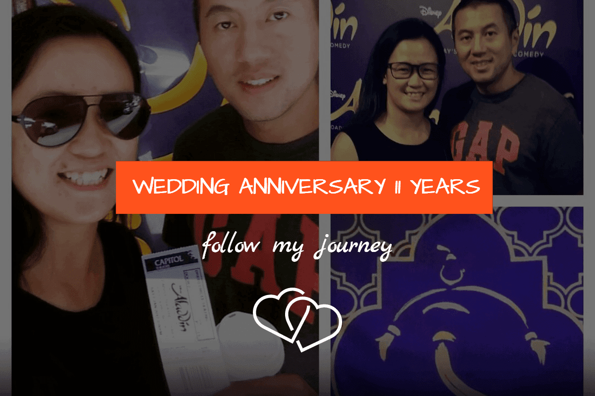 WEDDING ANNIVERSARY 11 YEARS 1