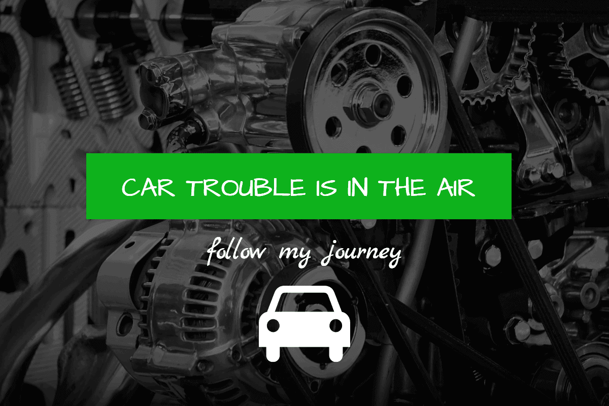 my car trouble is in the air