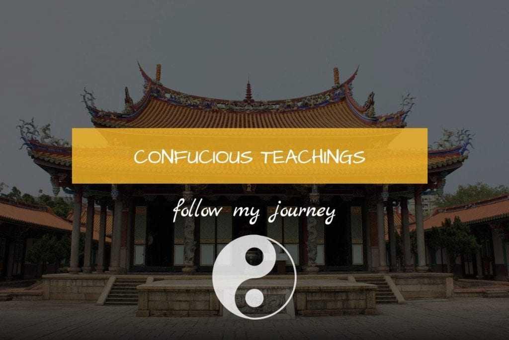 CONFUCIOUS TEACHINGS