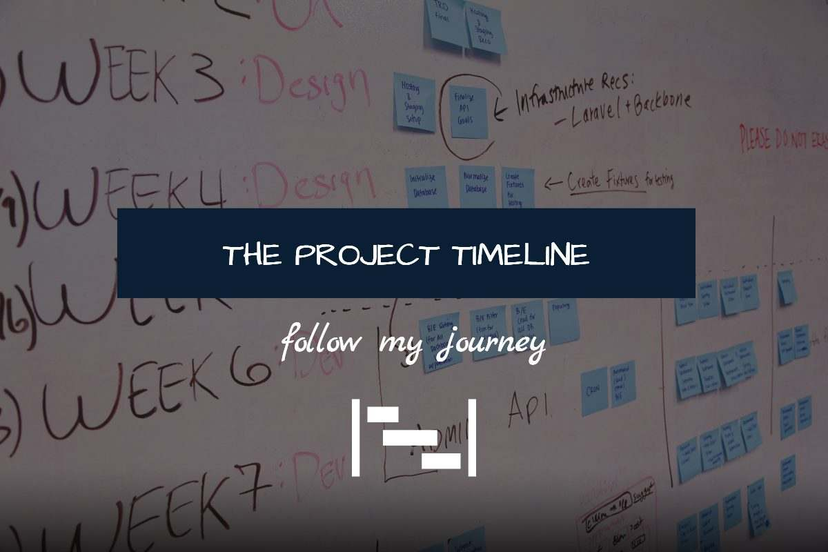 THE PROJECT TIMELINE