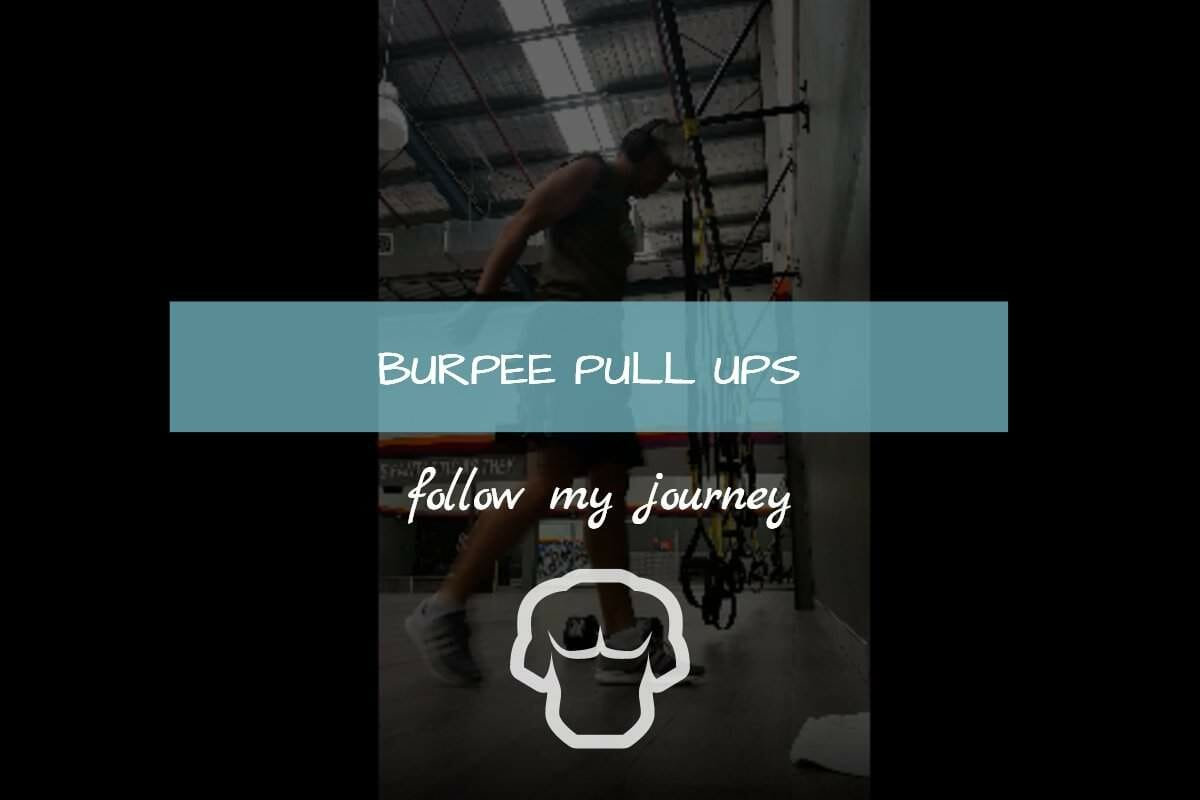 Burpee Pull ups My Fitness Workout