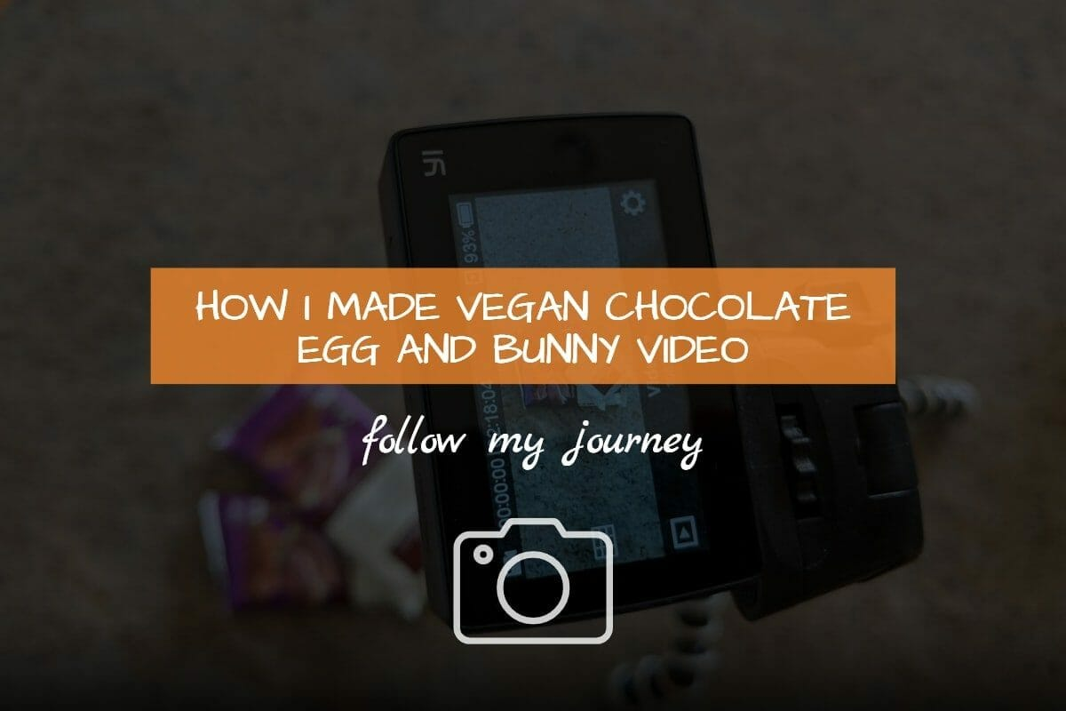 Marco Tran - How I made Vegan Chocolate Egg and Bunny Video 1