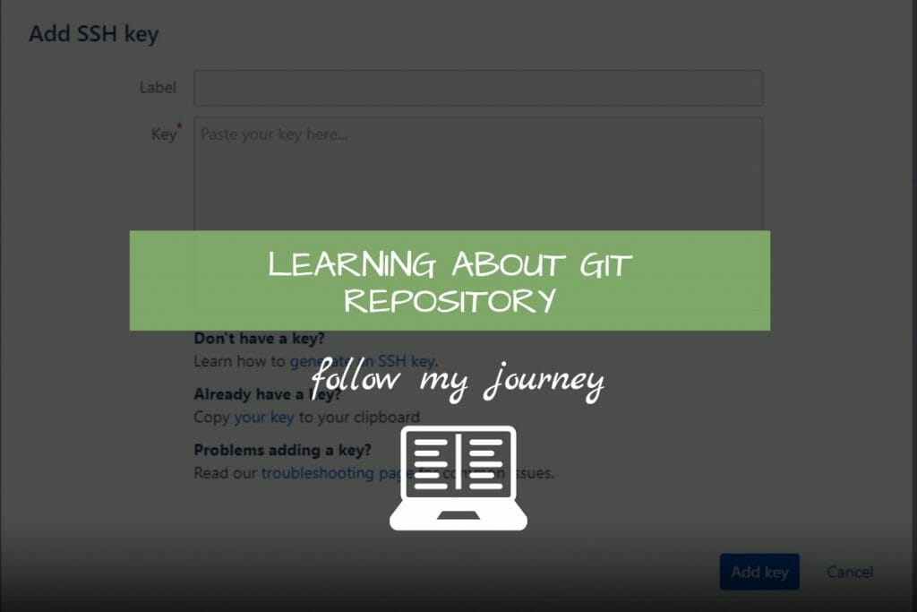 LEARNING ABOUT GIT REPOSITORY