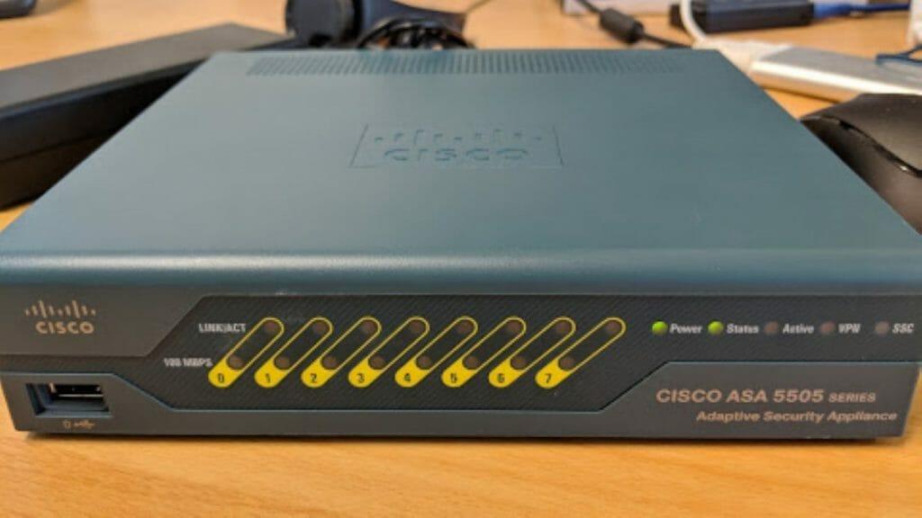 Marco Tran - Cisco ASA 5505