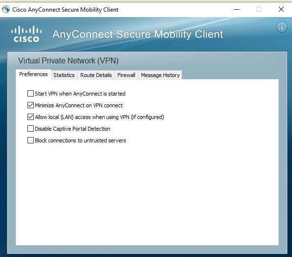 Marco Tran - Cisco ASA setup AnyConnect Block Untrusted