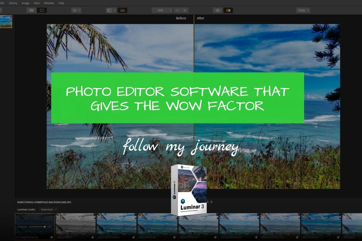Marco Tran - PHOTO EDITOR SOFTWARE THAT GIVES THE WOW FACTOR