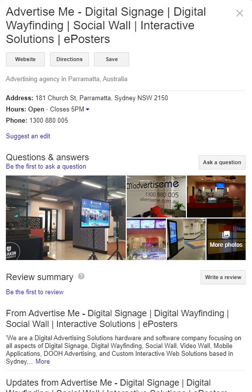 Marco Tran - Advertise Me Google Business Listing