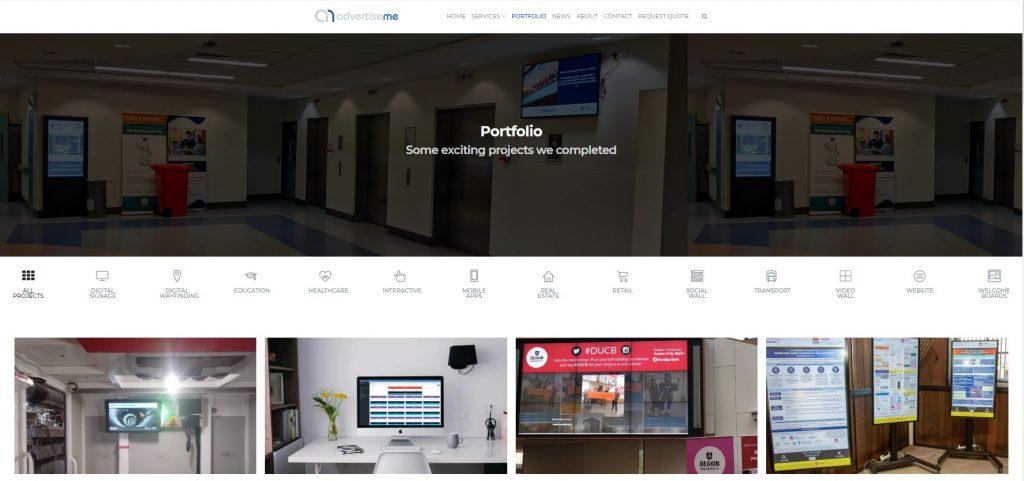 Marco Tran - Advertise Me New Website Portfolio