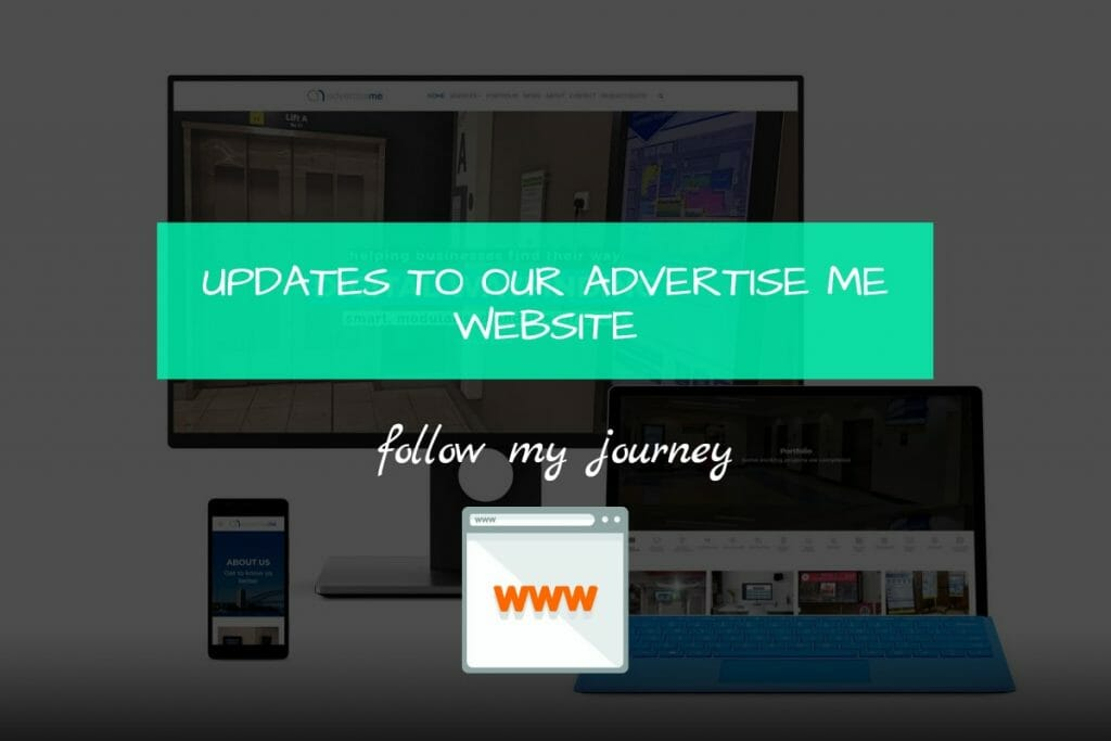 Marco Tran - UPDATES TO OUR ADVERTISE ME WEBSITE