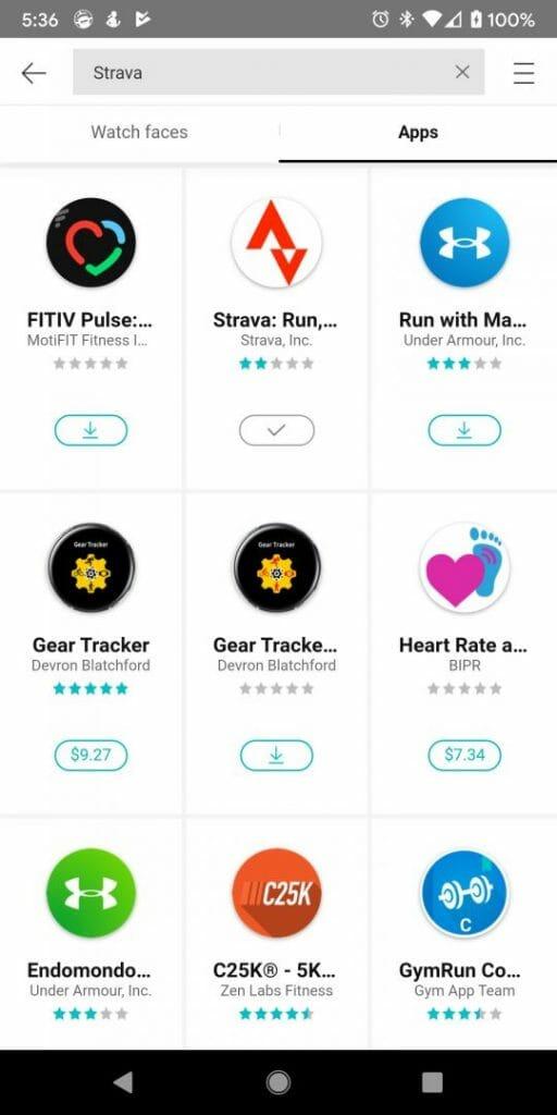 Marco Tran - Galaxy Wear Store Strava App