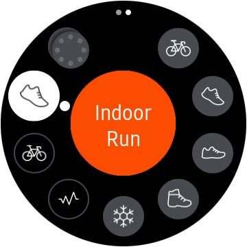 Marco Tran - Samsung Gear S3 Strava App Indoor Run