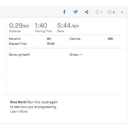 Marco Tran - Strava Mobile App Indoor Running
