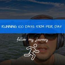 Marco Tran RUNNING 100 DAYS 5KM PER DAY header