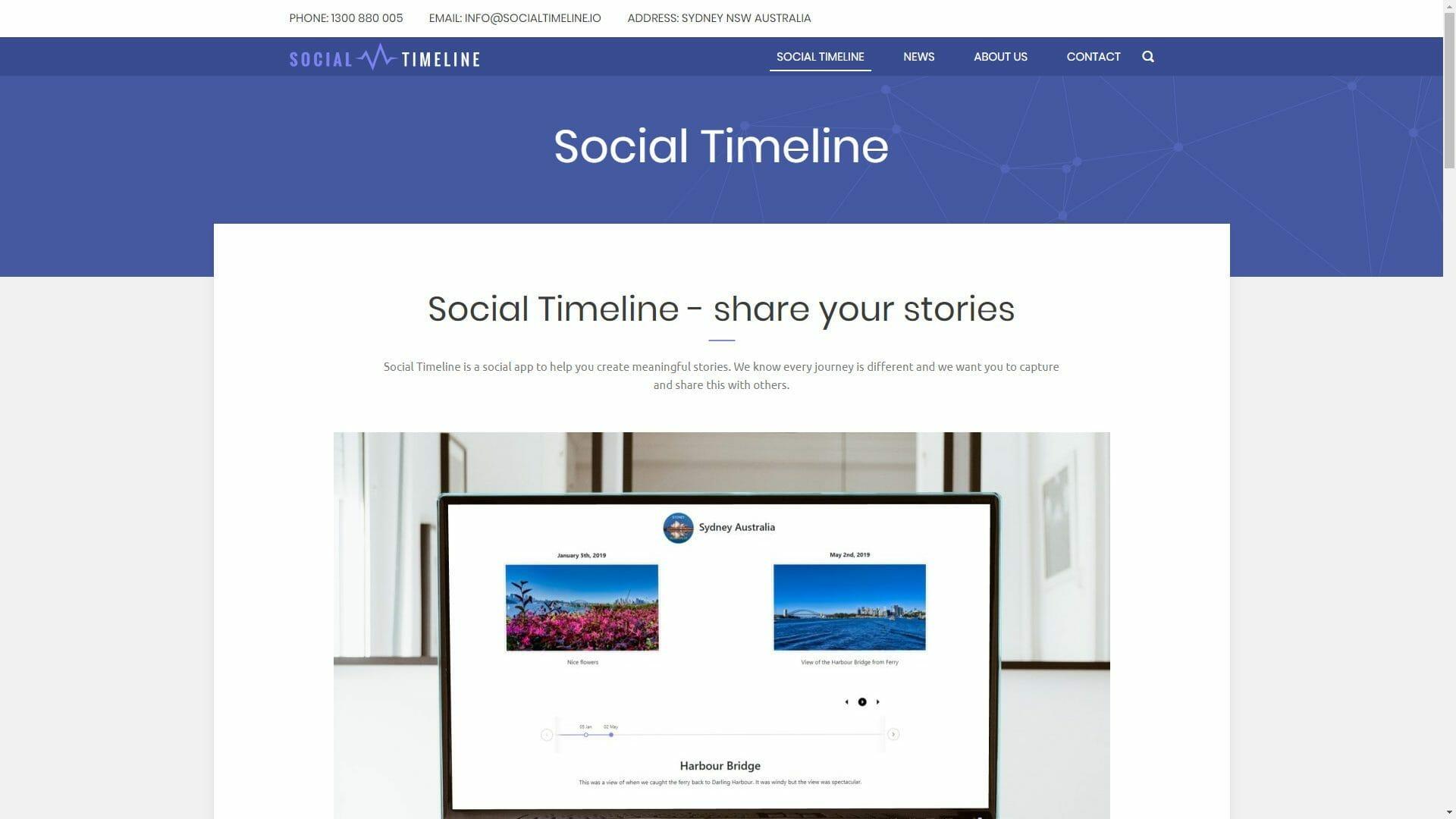 Marco Tran The Simple Entrepreneur Social Timeline Website