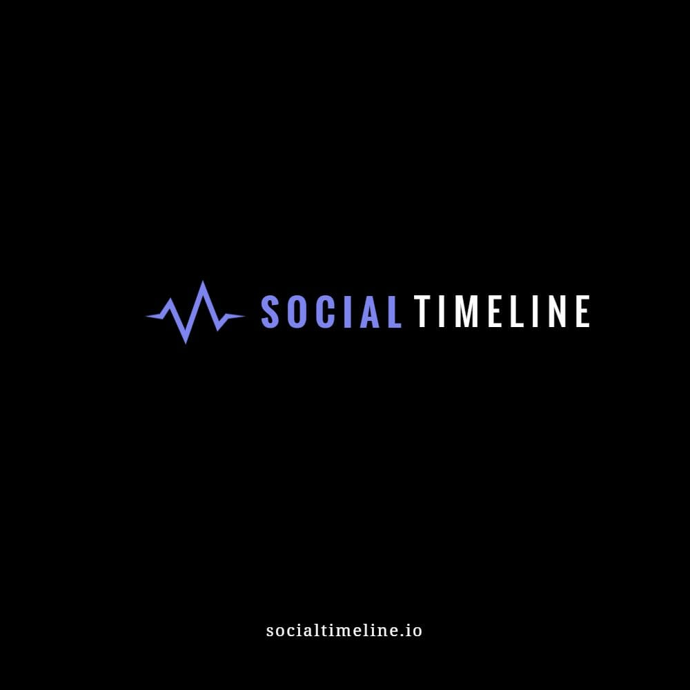 Social Timeline Logo Mockup 3