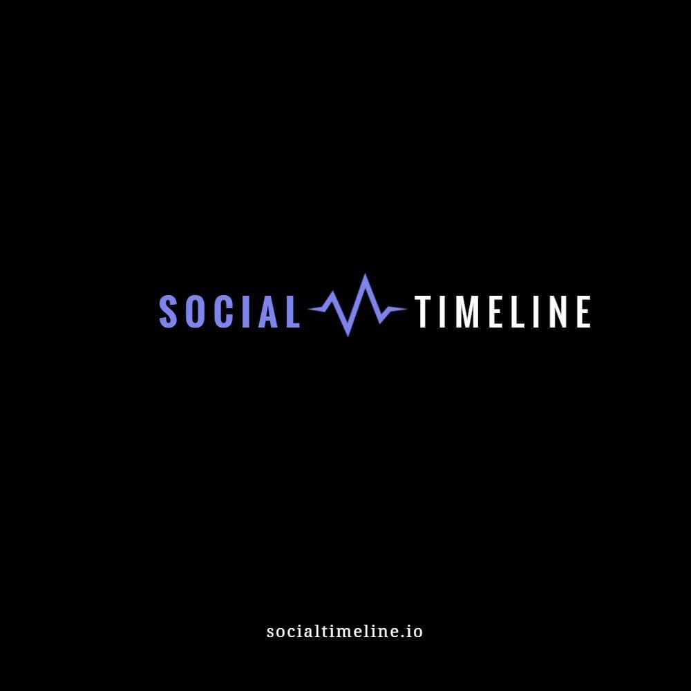 Social Timeline Logo Mockup 4