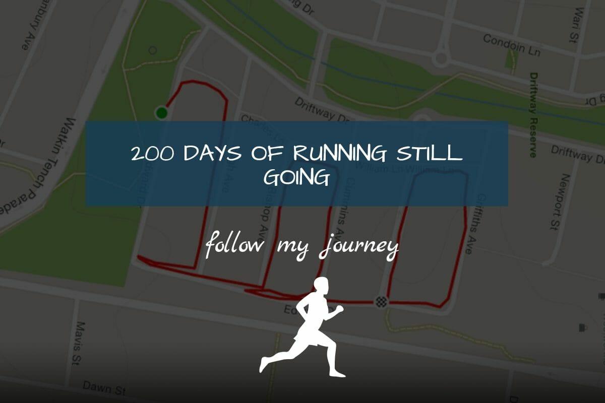 Marco Tran The Simple Entrepreneur 200 Days of running header