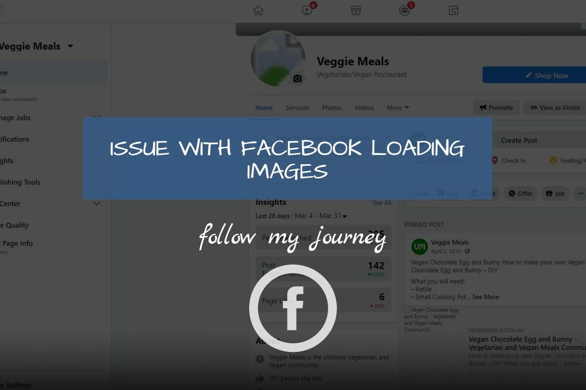 Marco Tran The Simple Entrepreneur ISSUE WITH FACEBOOK LOADING IMAGES