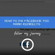 Marco Tran The Simple Entrepreneur HOW TO FIX FACEBOOK TOO MANY REDIRECTS