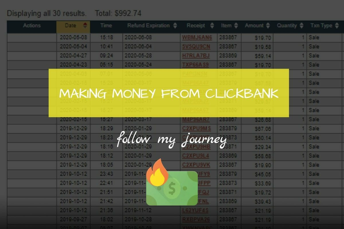 Marco Tran The Simple Entrepreneur MAKING MONEY FROM CLICKBANK