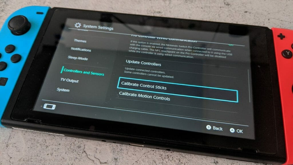 Marco Tran The Simple Entrepreneur HOW I FIXED MY NINTENDO SWITCH JOYCON USING A PRESSURISED AIR DUSTER Calibrate Control Sticks