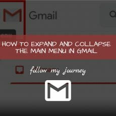 Marco Tran The Simple Entrepreneur HOW TO EXPAND AND COLLAPSE THE MAIN MENU IN GMAIL