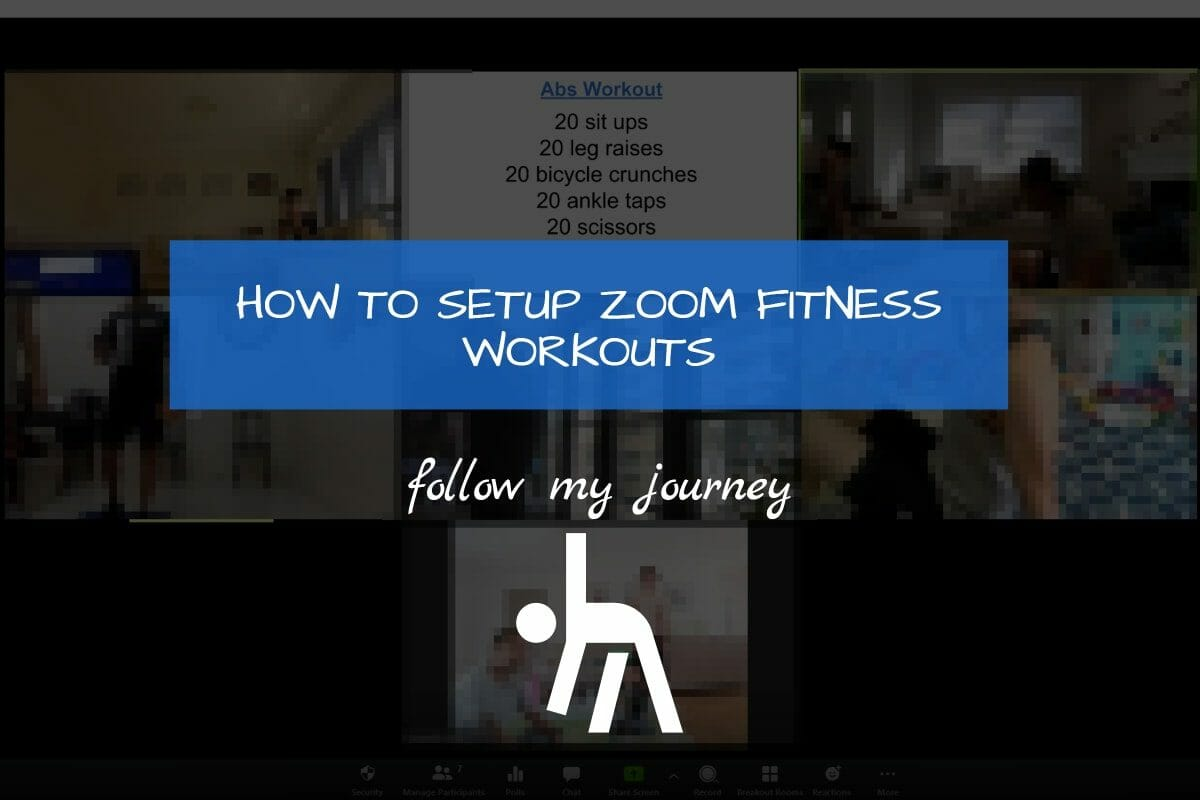 Marco Tran The Simple Entrepreneur HOW TO SETUP ZOOM FITNESS WORKOUTS
