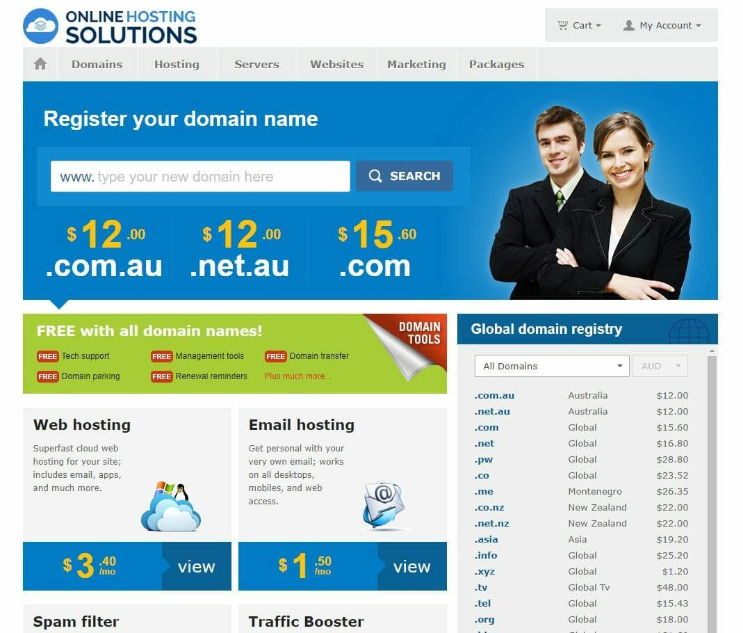 Marco Tran The Simple Entrepreneur Online Hosting Solutions Domain Names and Web Hosting