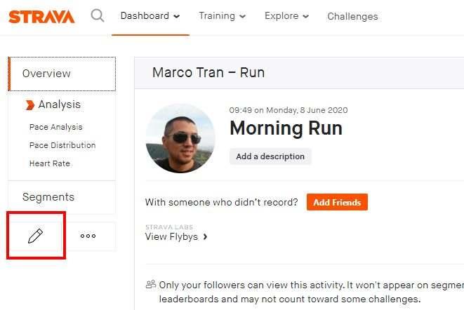 Marco Tran The Simple Entrepreneur Strava Tropies Not displaying Morning run Edit Run
